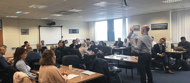 IBC-M attending workshops with North West Regional College (NWRC) in UK