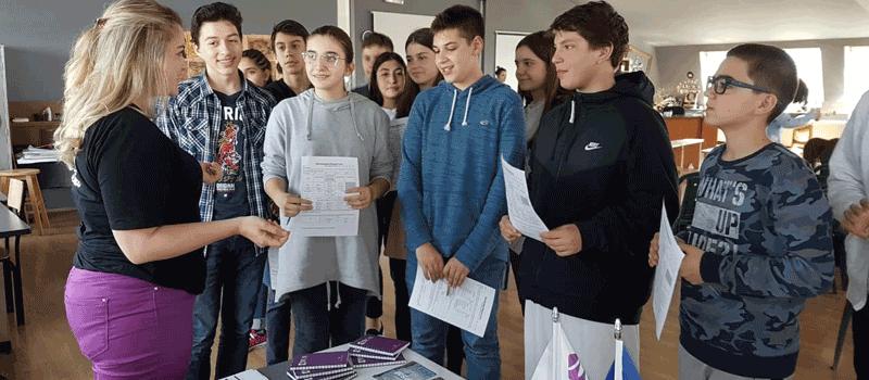 IBC-M participates in Prishtina High School Fair