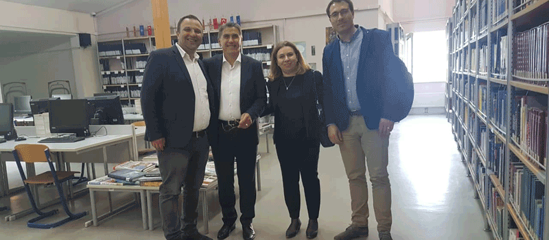 IBC-M staff visits South East Europe University