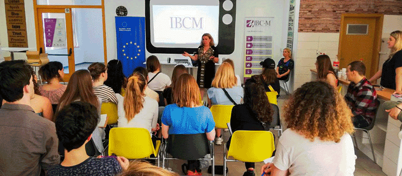 IBC-M welcomes students from Amsterdam University