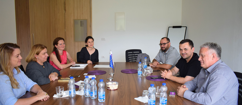 """IBC-M welcomed the new rector of University of Prizren """"Ukshin Hoti"""" and his team"""