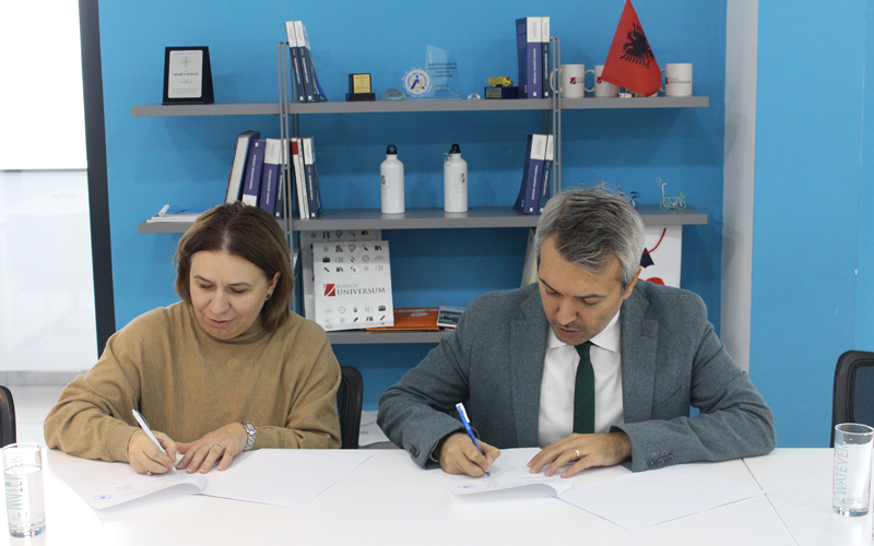 International Business College Mitrovica ( IBC-M ) signs an MOU with Universum collage