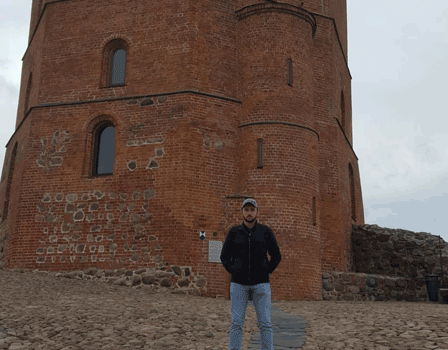 IBC-M student exchange to Lithuania: Damir Haljilji story
