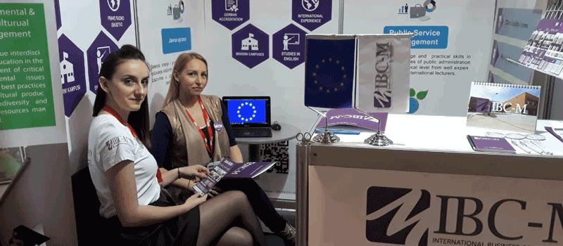IBC-M participates in the education fair in Belgrade