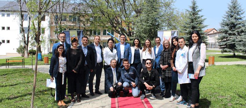 IBC-M attends college fair in Gjilan