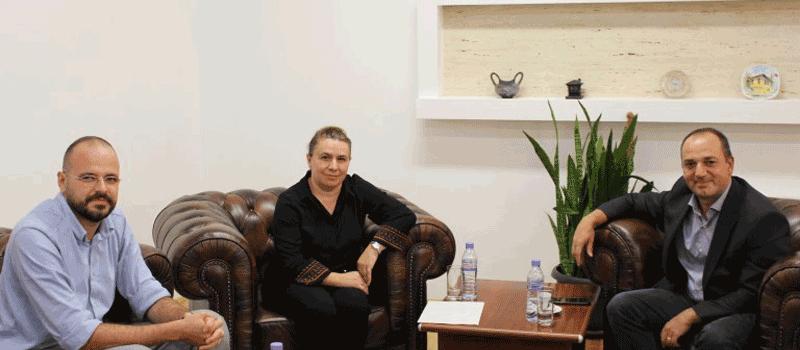 IBC-M meeting with Mayor of Prizren, Mr. Haskuka