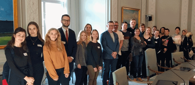 IBC-M Lecturer presented as a Guest lecturer at UCL in Denmark