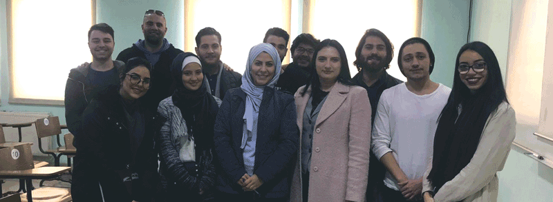 IBC-M continues its cooperation with the University of Petra and SPARK in Jordan
