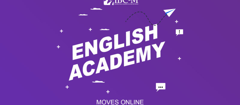 IBC-M's English Academy moves online