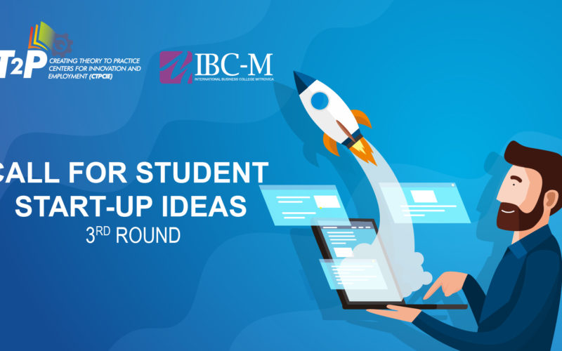 Call for Student Start-up Ideas – 3rd Round