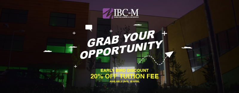 IBC-M launches a range of EARLY BIRD discounts