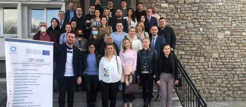 QUADIC Three Day Training in Prizren