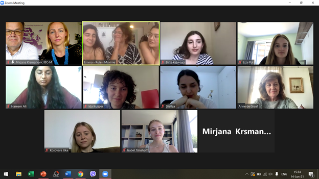 Virtual Meeting With Students From Amsterdam University College (AUC)